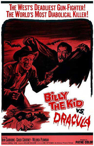 Billy the Kid vs Dracula Movie Poster