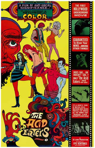 The Acid Eaters Movie Poster
