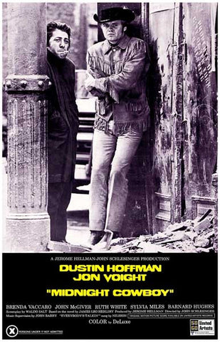 Midnight Cowboy Joe Buck & Ratso Hoffman 11x17 Poster