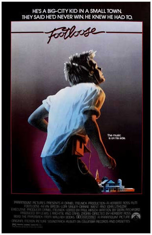 Footloose Kevin Bacon Movie Poster
