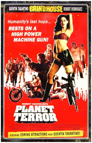 Planet Terror Grindhouse Movie Poster
