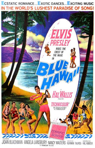Elvis Presley Blue Hawaii Poster