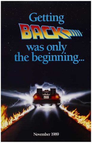Back to the Future Movie Poster