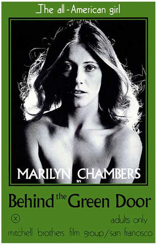 Behind the Green Door Marilyn Chambers X 11x17 Poster