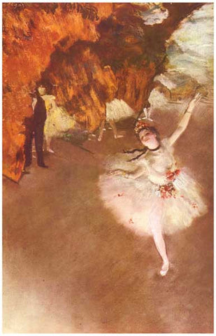 Edgar Degas The Star Poster