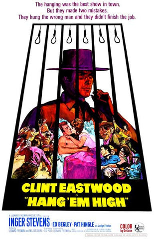 Hang 'Em High Finish the Job Eastwood 11x17 Poster