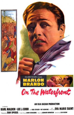 On the Waterfront Terry Malloy Brando 11x17 Poster