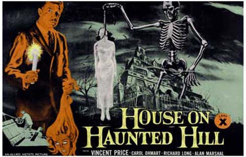 House on Haunted Hill Vincent Price 11x17 Poster