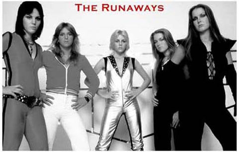 The Runaways Band Poster