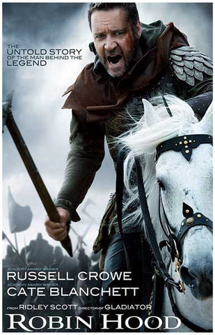 Robin Hood Man Behind the Legend Crowe 11x17 Poster