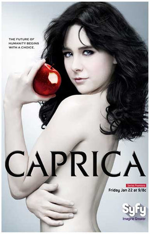 Caprica The Future Begins with a Choice 11x17 Poster