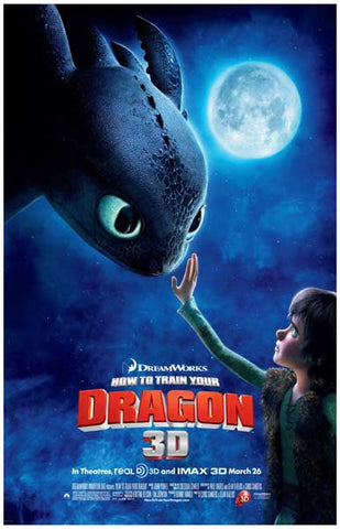How to Train Your Dragon 1st Contact 11x17 Poster