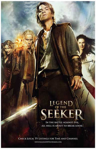 Legend of the Seeker Cast TV Show Poster 11x17