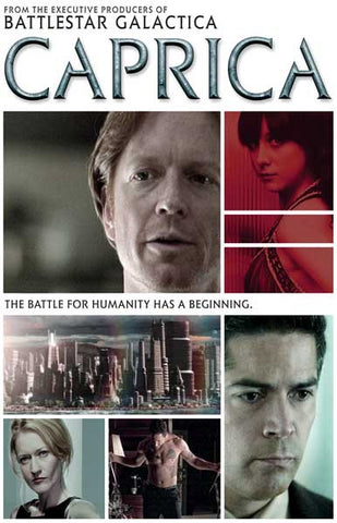 Caprica Battle for Humanity Cast Collage 11x17 Poster