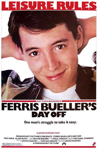 Ferris Bueller's Day Off Movie Poster