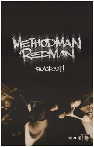 Method Man Redman Blackout Poster