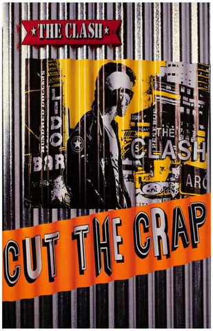 The Clash Cut the Crap Joe Strummer 11x17 Poster