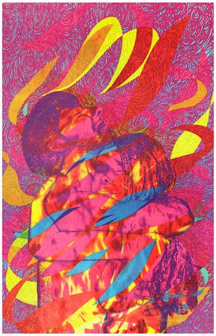Light My Fire Love Embrace Psychedelic 60s 11x17 Poster