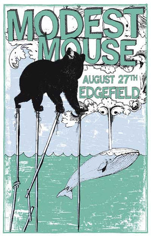 Modest Mouse Concert Poster