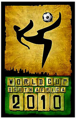 FIFA World Cup 2010 South Africa Soccer Poster