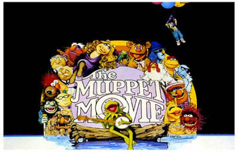 The Muppet Movie Cast Kermit Miss Piggy 11x17 Poster