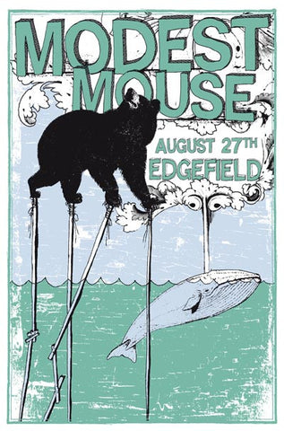 Modest Mouse Band Poster