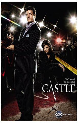 Castle TV Show Richard & Kate on the Case 11x17 Poster