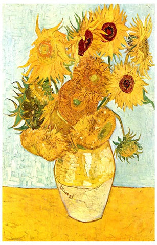 Vincent Van Gogh Sunflowers Poster