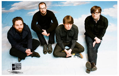 Death Cab for Cutie 8 Miles High Gibbard 11x17 Poster