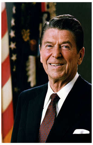 Ronald Reagan Portrait Poster