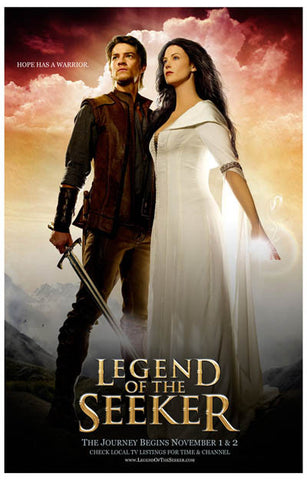 Legend of the Seeker Hope has a Warrior 11x17 Poster