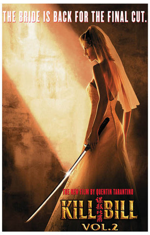 Kill Bill vol 2 Bride is Back Uma Thurman 11x17 Poster