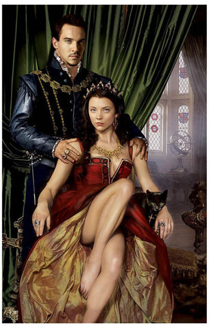 The Tudors Henry VIII and Anne Boleyn 11x17 Poster