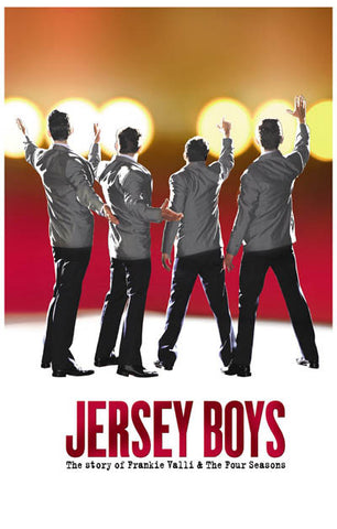 Jersey Boys Broadway Show Poster