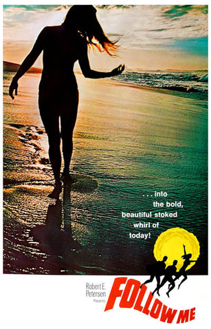 Follow Me Film Claude Codgen Surfing 11x17 Poster