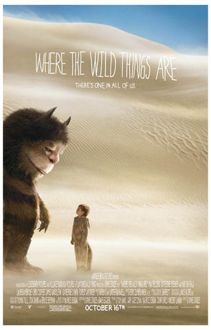 Where the Wild Things Are Max Carol Desert 11x17 Poster
