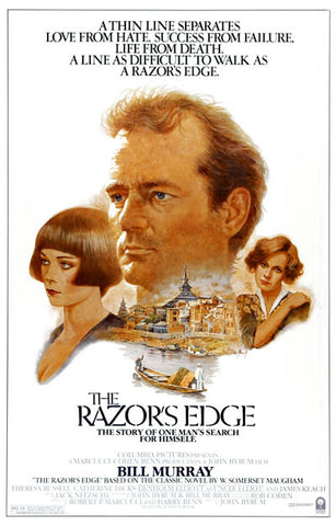 The Razor's Edge One Man's Search Murray 11x17 Poster