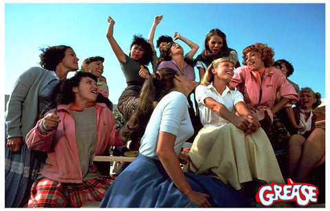 Grease Girls Pink Ladies Movie Poster