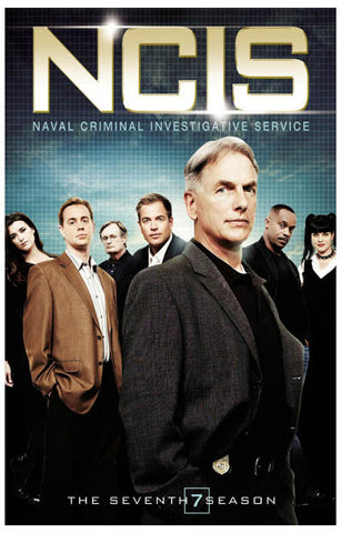 NCIS Season 7 Cast Mark Harmon 11x17 Poster