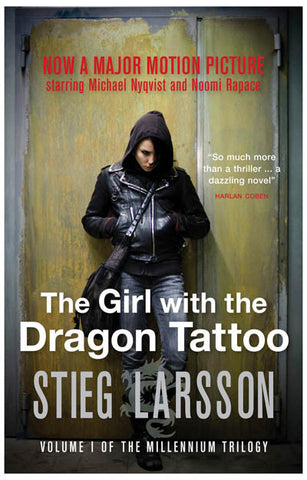 Girl with the Dragon Tattoo Lisabeth Door 11x17 Poster
