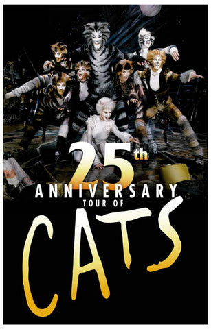 Cats Broadway Show Poster