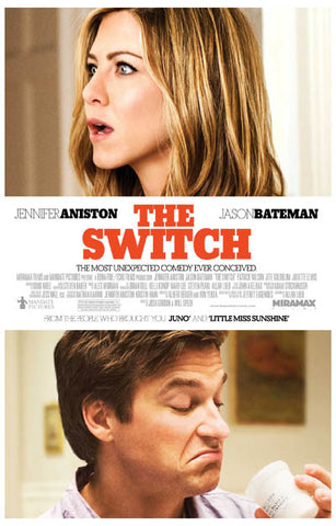 The Switch Movie 11x17 Poster Aniston Bateman