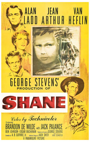 Shane Western Movie Poster