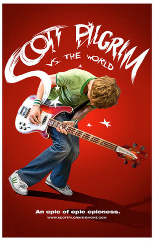 Scott Pilgrim Vs the World Movie Poster