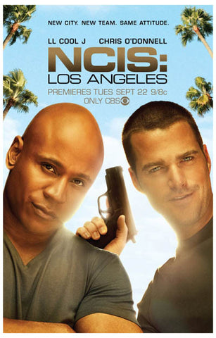 NCIS Los Angelas 11x17 Poster LL Cool J Chris O'Donnel