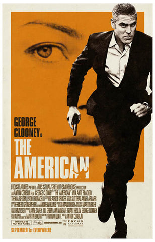 The American Movie George Clooney 11x17 Poster