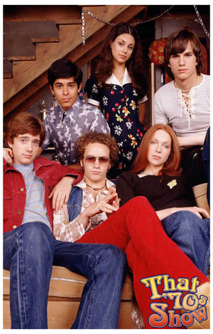 That 70's Show Cast Poster