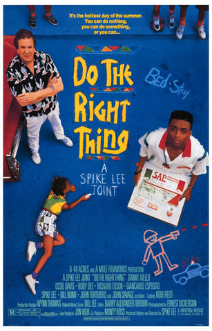 Do the Right Thing Movie Poster