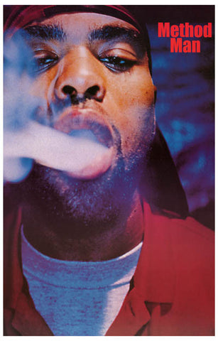 Method Man Wu-Tang Clan Smokin' Soul 11x17 Poster