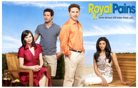 Royal Pains TV Show Cast House Calls 11x17 Poster